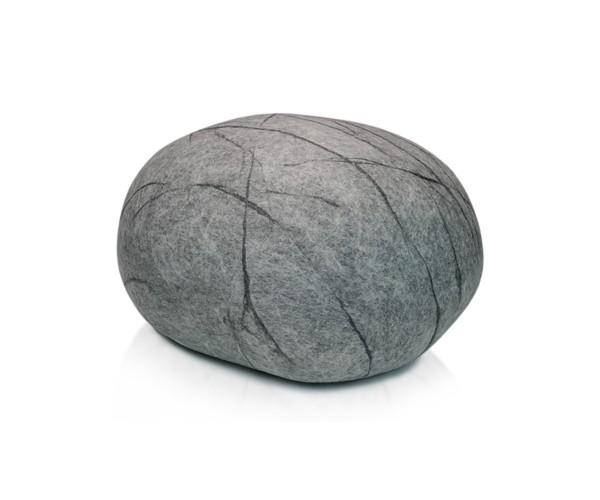 Pouf stONE No.5 Marble Gray