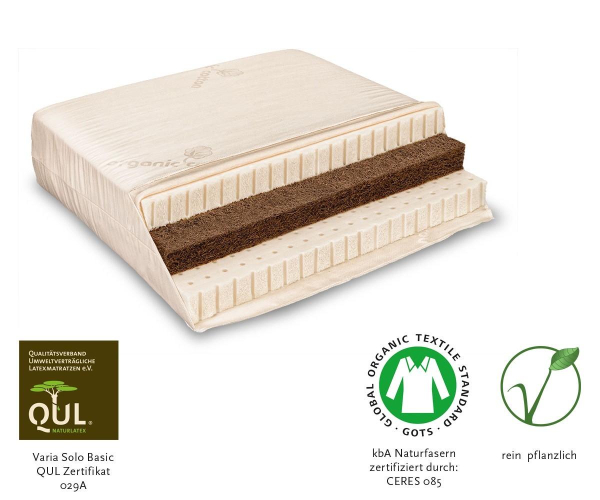 Naturmatratze Varia Solo Sandwich