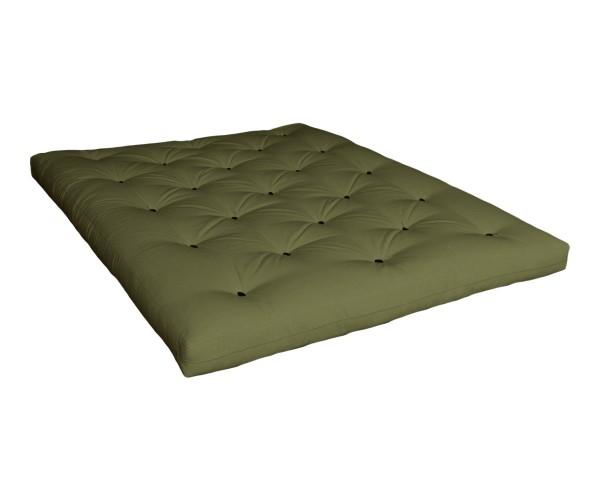 Matratze Tenno 140 x 200 cm Olivgrün (Sofort Lieferbar)