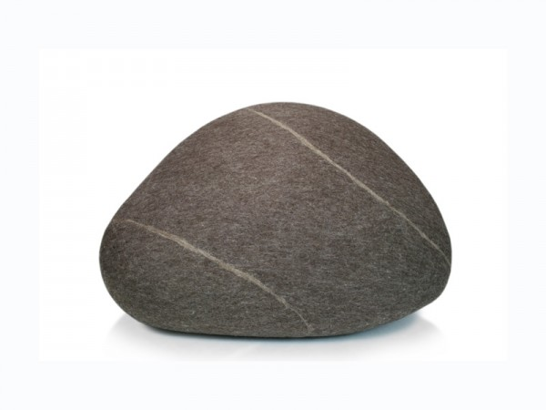 Pouf stONE No.5 Granite Brown S