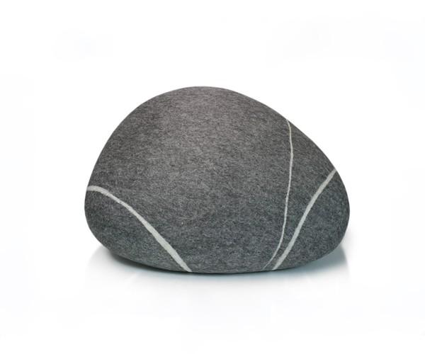 Pouf stONE No.5 Dark Gray S