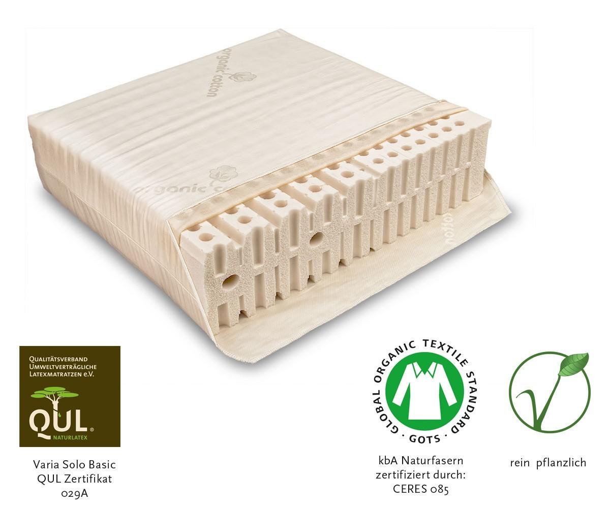 Naturmatratze Varia Solo Basic