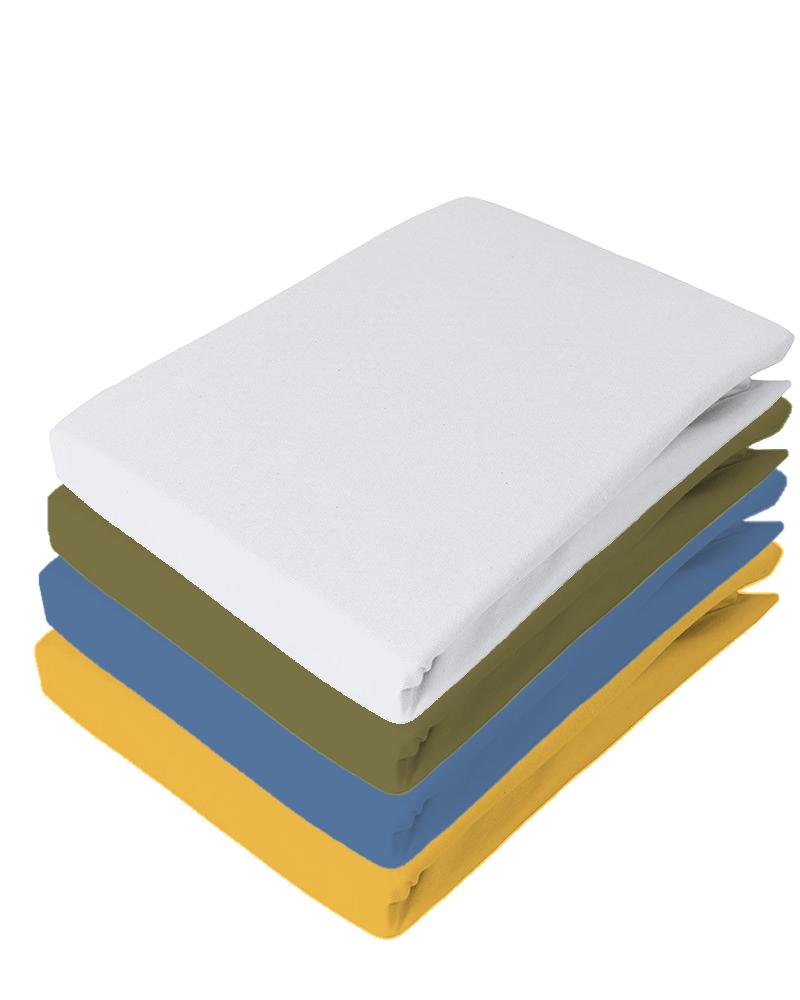 Spannbetttuch für Topper Elastic-Jersey Q371