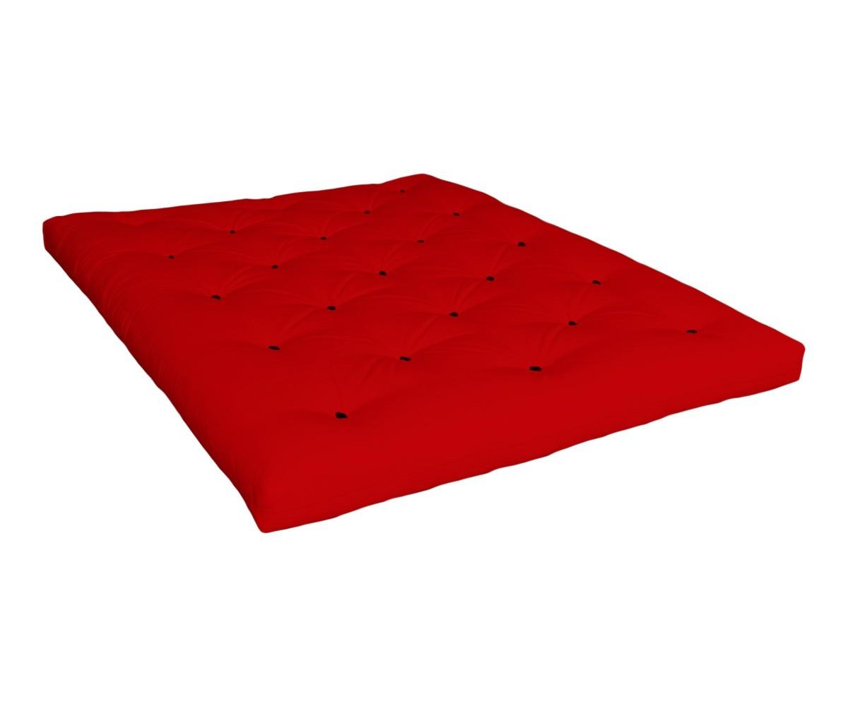 Matratze Tenno 90x200 cm Rot (Sofort Lieferbar)