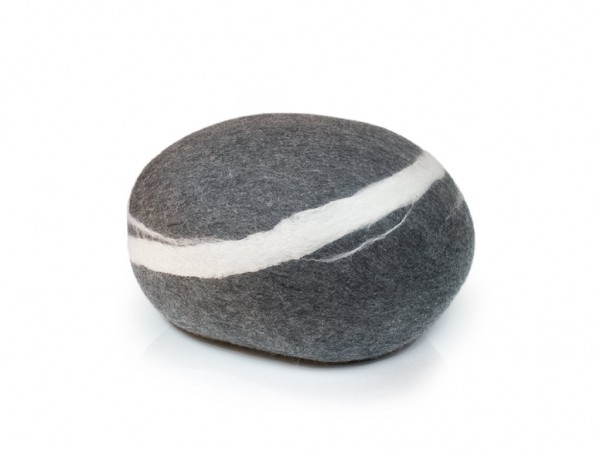 Pouf stONE No.5 Dark Gray