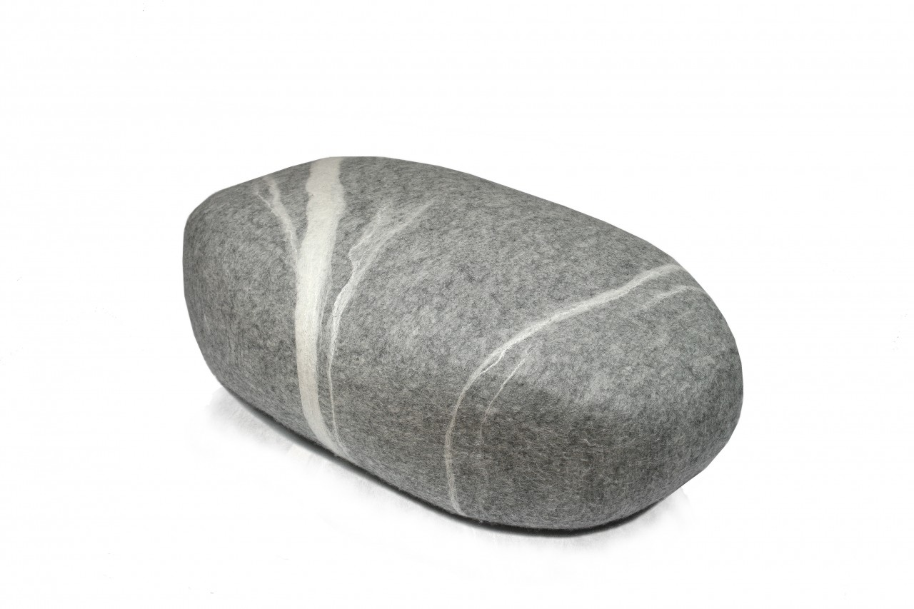 Pouf stONE No.5 Light Gray XM