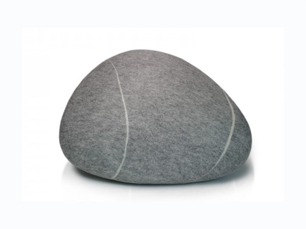 Pouf stONE No.5 Light Gray S