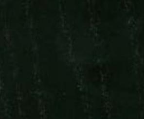 Esche schwarz lackiert