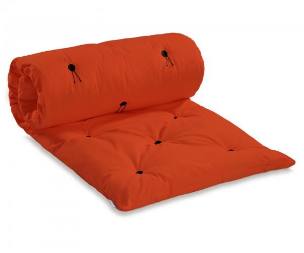 Gästefuton Kasugai 140x200 cm Orange (Sofort Lieferbar)