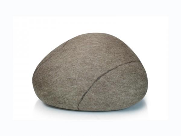 Pouf stONE No.5 Granite Beige S