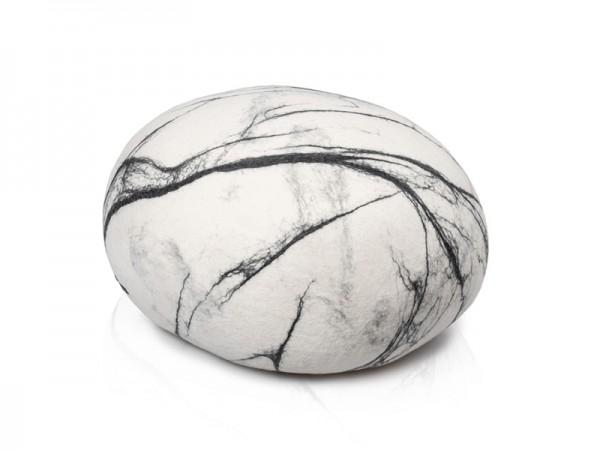 Pouf stONE No.5 Marble White