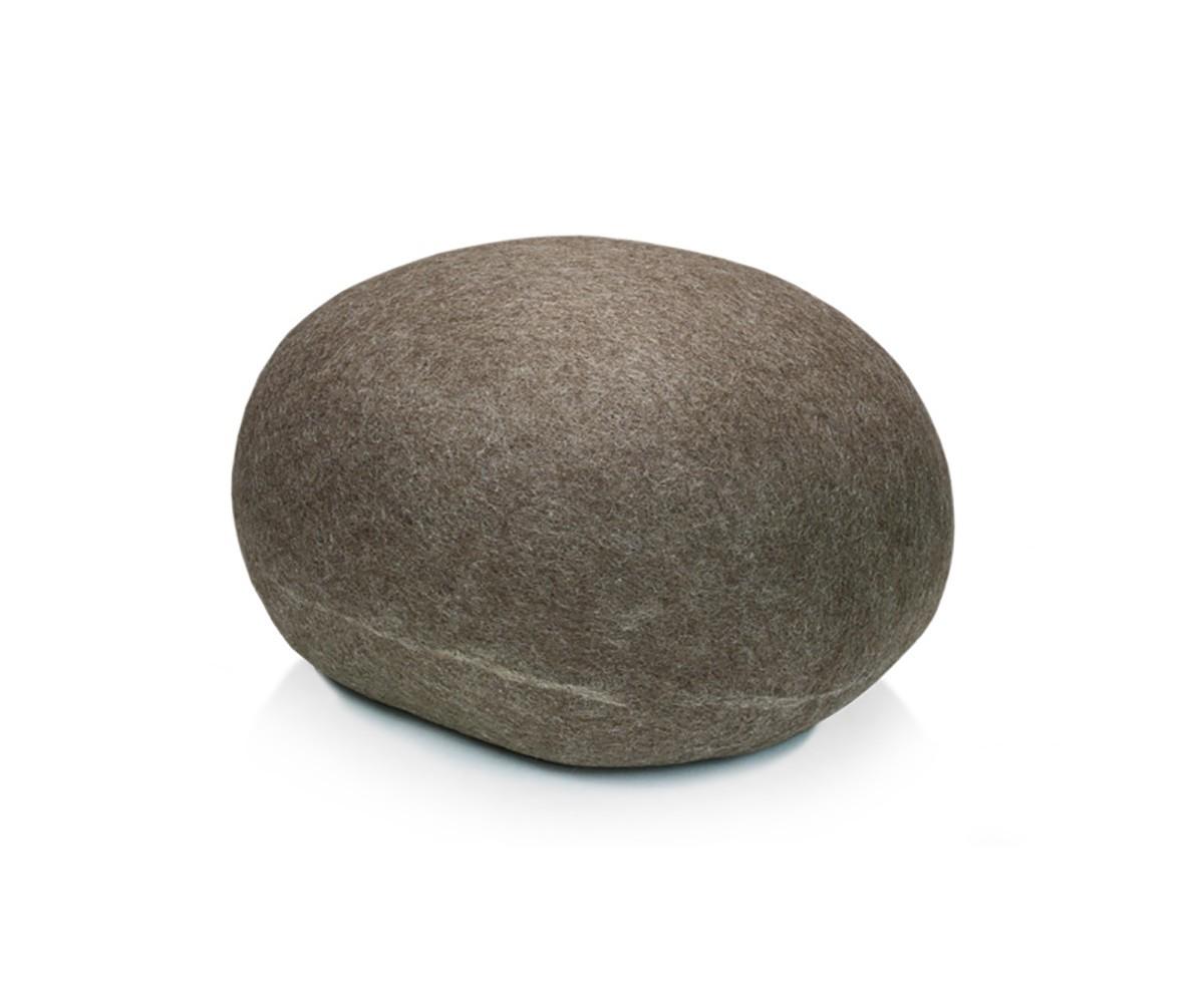 Pouf stONE No.5 Granite Brown