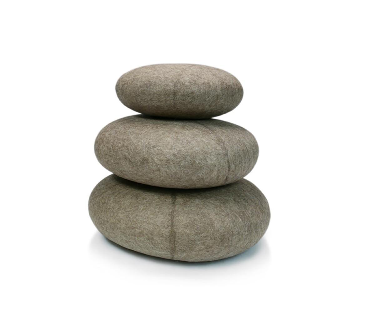 Filzkissen stONE No.9 Granite Beige