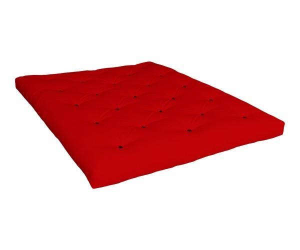 Matratze Tenno 90 x 200 cm Rot (Sofort Lieferbar)