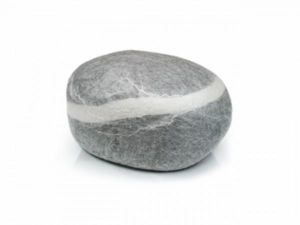 Pouf stONE No.5 Light Gray
